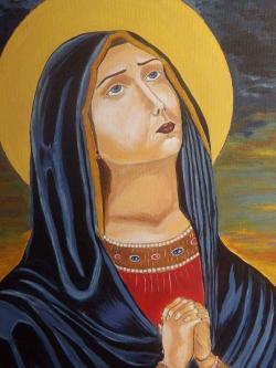 Picturi religioase maica Domnului Indurerata...