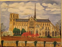 Picturi religioase Catedrala notre dame