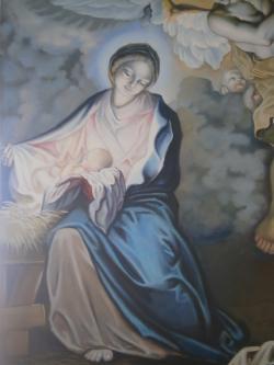 Picturi religioase Adoratia ingerilor