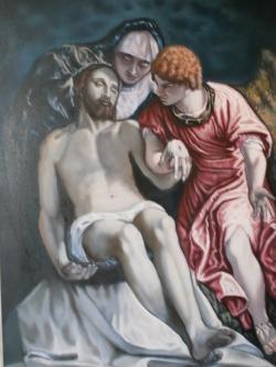 Picturi religioase Depunerea in mormant