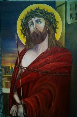 Picturi religioase PORTRET CU ISUS