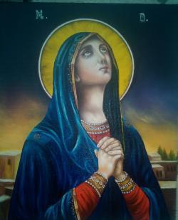 Picturi religioase Ruga Maicii Domnului