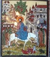 Picturi religioase Intrarea in ierusalim