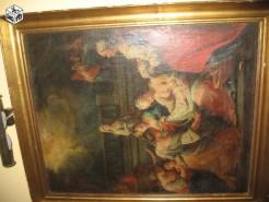 Picturi religioase Fecioara maria si curtezanele