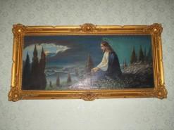 Picturi religioase Issus pe dealul maslinului
