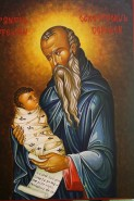 Picturi religioase Sf. stelian ocrotitorul copiilor