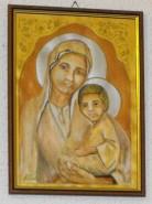 Picturi religioase Maica domnului cu pruncul sfant