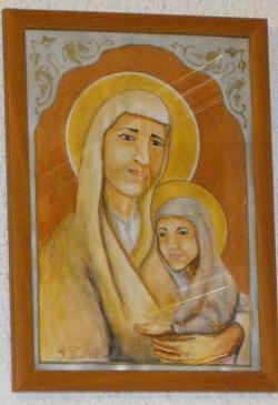 Picturi religioase Sfanta Ana