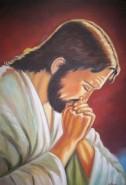 Picturi religioase Isus in rugaciune