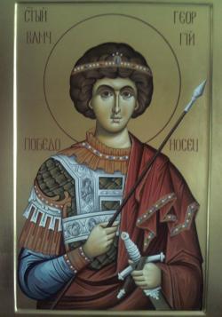 Picturi religioase Sfantul Gheorghe - Icoana