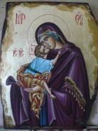 Picturi religioase Fecioara cu pruncul 2
