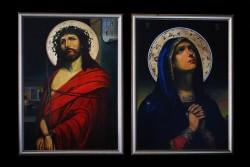 Picturi religioase Iisus si maica indurerati
