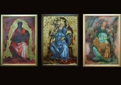 Picturi religioase Trei madone