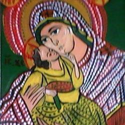 Picturi religioase Icoana pe sticla nr.4