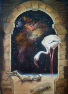 Picturi surrealism Mesaj din trecut