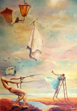 Picturi surrealism No return