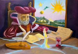 Picturi surrealism Revelatie
