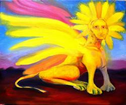 Picturi surrealism Sfinx02