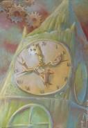 Picturi surrealism Ceasul vietii