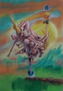 Picturi surrealism Munca in agricultura