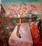 Picturi surrealism El arbol de la vida
