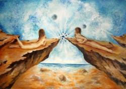 Picturi surrealism Ceasul pasiunii