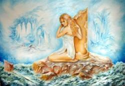 Picturi surrealism Nimfa