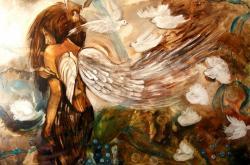 Picturi surrealism Suflet dezvelit