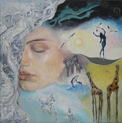 Picturi surrealism Thoughts - Ganduri