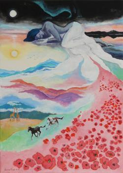 Picturi surrealism Zilele de creatie
