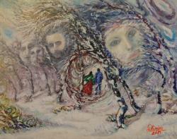 Picturi surrealism Mereu impreuna