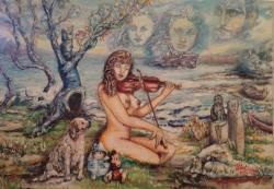 Picturi surrealism Sfarsitul adolescentei