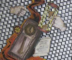 Picturi surrealism Timpul trece
