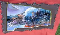 Picturi surrealism Aparitie divina--229