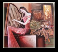 Picturi surrealism Muzica si har--177