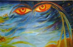 Picturi surrealism Meditatie 1