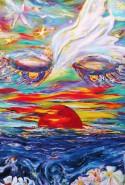 Picturi surrealism Meditatie 4