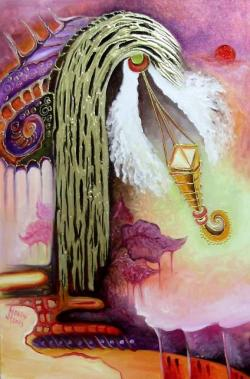 Picturi surrealism Angel touch