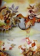 Picturi surrealism Balada crengutei de castan