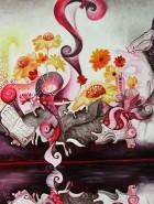 Picturi surrealism Noroc la semn de carte