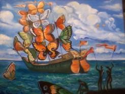 Picturi surrealism Corabia visurilor