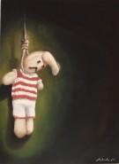 Picturi surrealism Sfarsitul copilariei