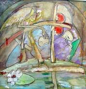 Picturi surrealism Insula paradisului