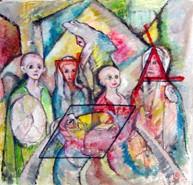 Picturi surrealism Sacrificarea morunului