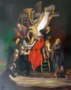 Picturi surrealism Coborarea de pe cruce