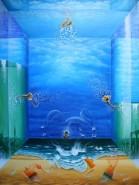 Picturi surrealism Concertul dimensiunilor