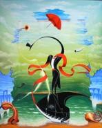 Picturi surrealism In a patra dimensiune