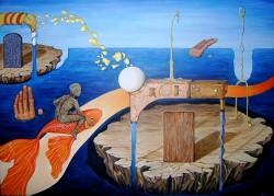 Picturi surrealism Make a wish 2
