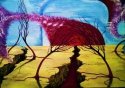 Picturi surrealism Peisaj