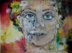 Picturi surrealism Bolnav